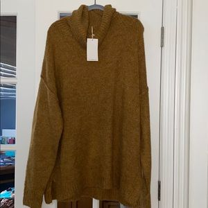 BNWT Reborn J Brown Sweater - 2X -